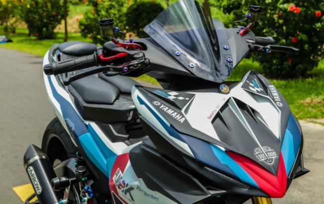"""Xe Yamaha Exciter độ """"hút sinh khí"""" từ các môtô hàng khủng 1546631564"""